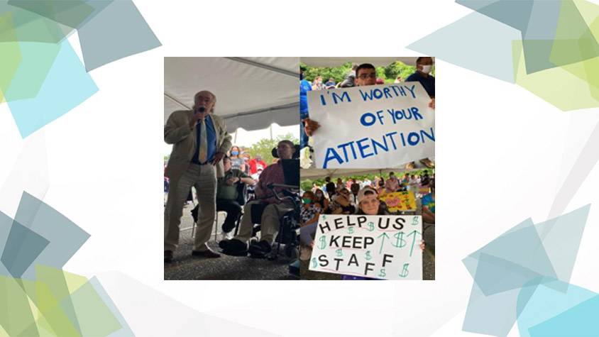 Workforce Crisis Events Draw Hundreds